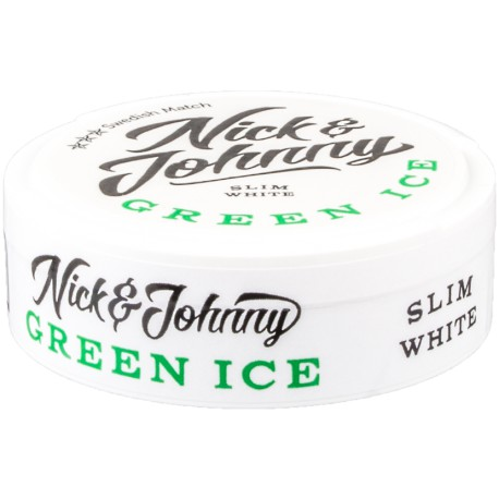 Nick & Johnny Crushed Ice White Xtra Strong