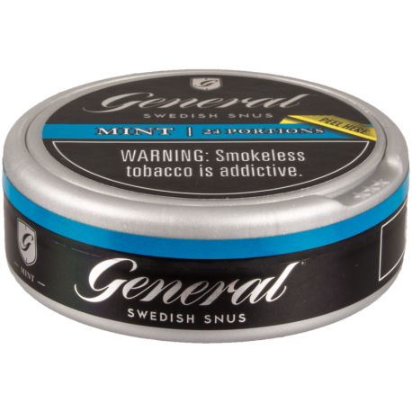 General White Mint Portion Snus