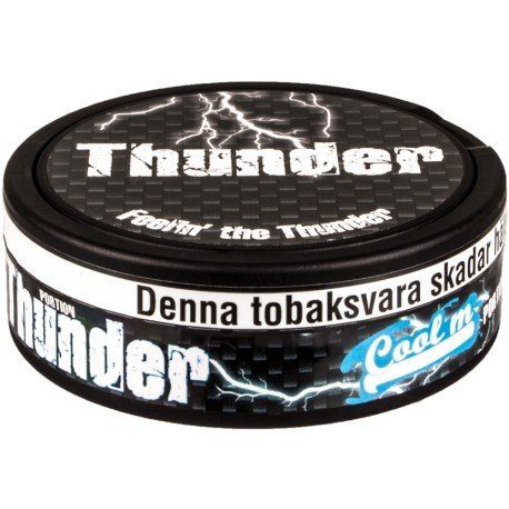 Thunder Extra Strong Cool Mint Portion Snus