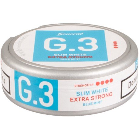 G.3 Mint Extra Strong Slim White