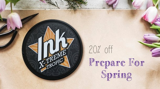 Save 20% on Ink X-Treme Tropic!!