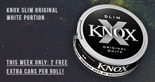 Buy 12 cans of Knox Slim Original Portion at the price of only 10!