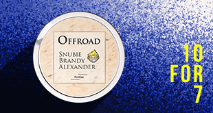 Only a few days left: Offroad Snubie Brandy Alexander Portion - 20% off rolls!