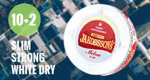 12 cans of delicious Jakobsson's Melon Slim Dry White at the price of only 10!