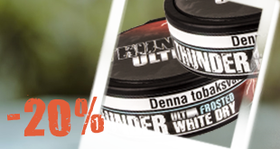 February Special: Thunder Frosted Ultra White Dry - 20% off rolls!