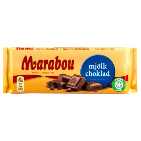 Marabou Milk Chocolate Bar 100g
