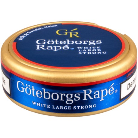 Göteborgs Rapé Strong Salong Betong White Portion