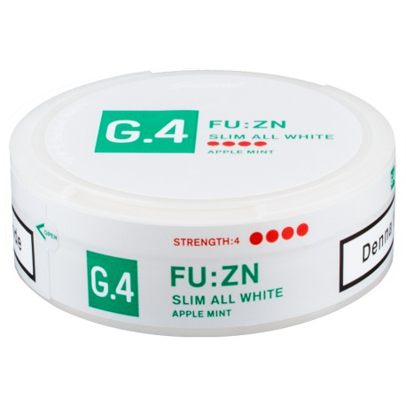 G.4 FU:ZN Slim All White Portion