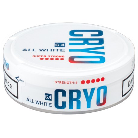G.4 CRYO Slim All White Super Strong