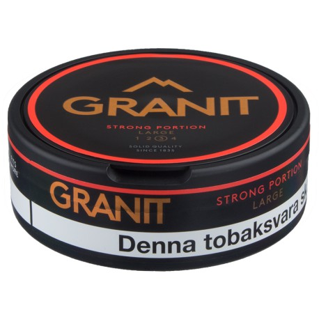 Granit Strong Portion Snus