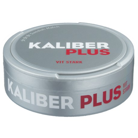 Kaliber+ White Portion Snus