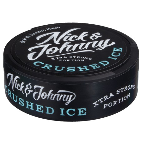 Nick & Johnny Crushed Ice Xtra Strong Portion Snus
