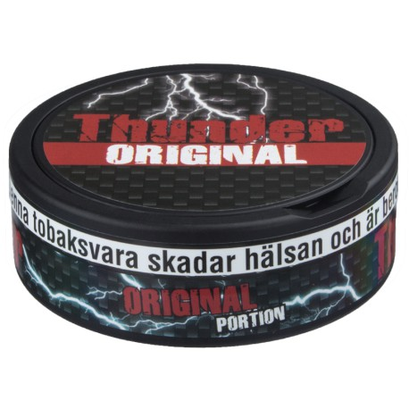 Thunder Extra Strong Original Portion Snus