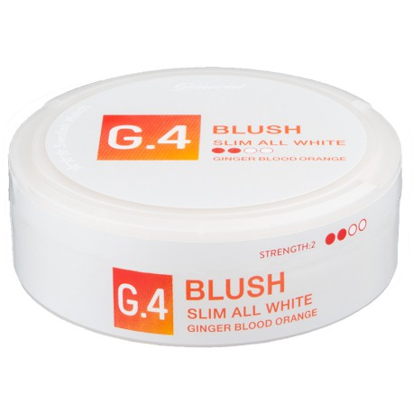 G.4 Blush Slim All White Portion