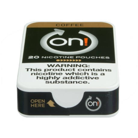 on! Coffee 8 Nicotine Pouches