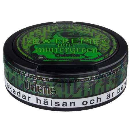 Oden's Pure Wintergreen Extreme Portion Snus
