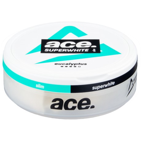 ACE Superwhite Eucalyptus Slim All White