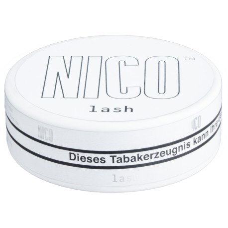 NICO Lash Glacier X Mint Ultra Strong All White