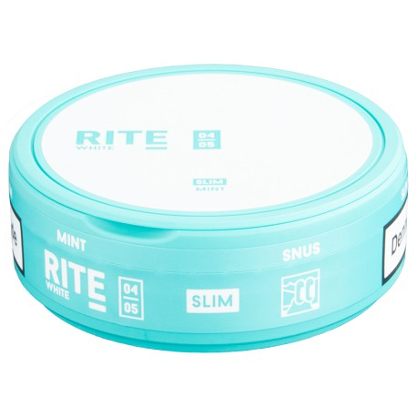 RITE Mint White Slim Portion