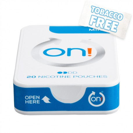 on! Mint 3 Nicotine Pouches