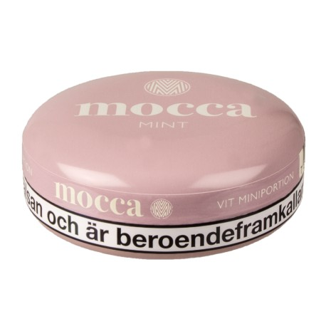 Mocca Mint Mini White Portion Snus
