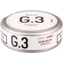 General G.3 Slim White Portion Snus
