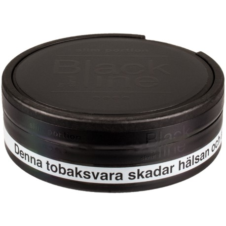 Black Line Slim Original Portion Snus