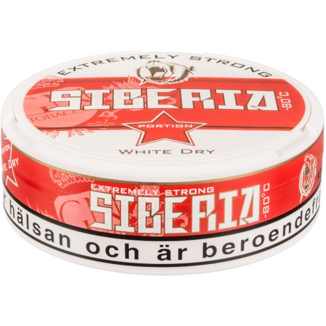 Siberia -80°C White Dry Chewing Bags
