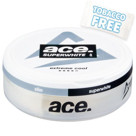 ACE Superwhite Extreme Cool Slim Nicotine Pouches