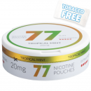 77 Tropical Mint Extra Strong Slim Nicotine Pouches