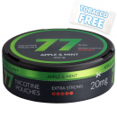 77 Apple Mint Extra Strong Slim Nicotine Pouches