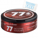 77 Snubie Edition Cola & Cherry Extra Strong Slim Nicotine Pouches