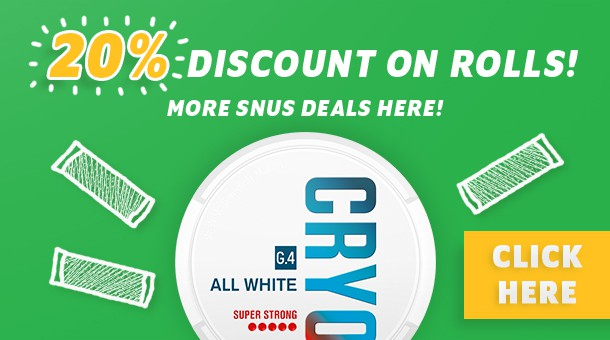 All White Snus on sale!