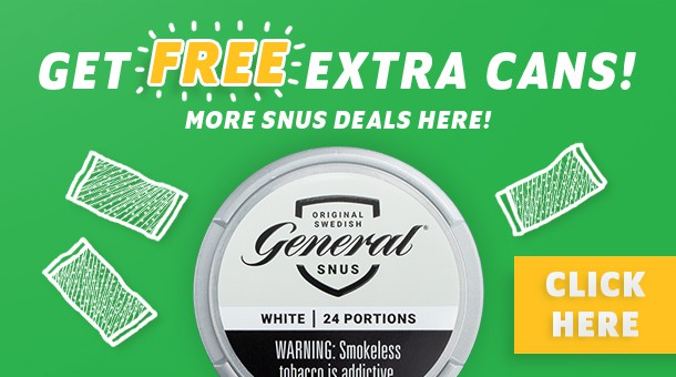 Swedish Match snus on sale!