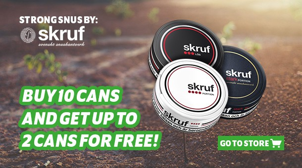 Get up to 2 cans free when you buy 1 roll!