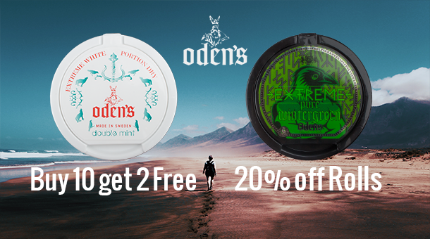 Extreme Oden's deals