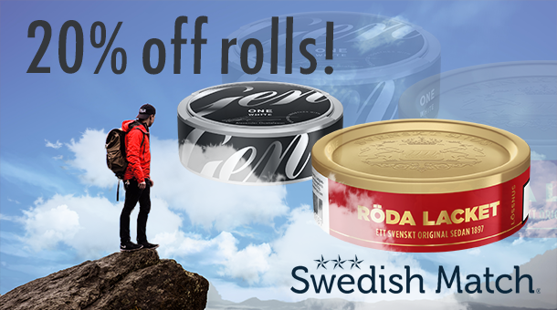 20% off on rolls, get these deals while they're hot