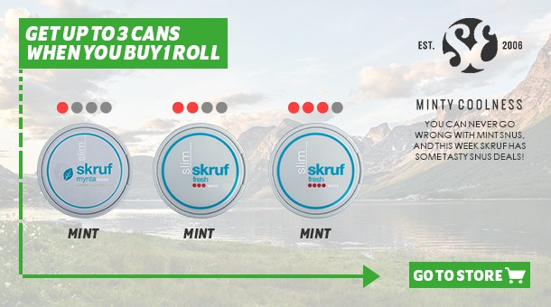 Get up to 3 cans free when you buy 1 roll!