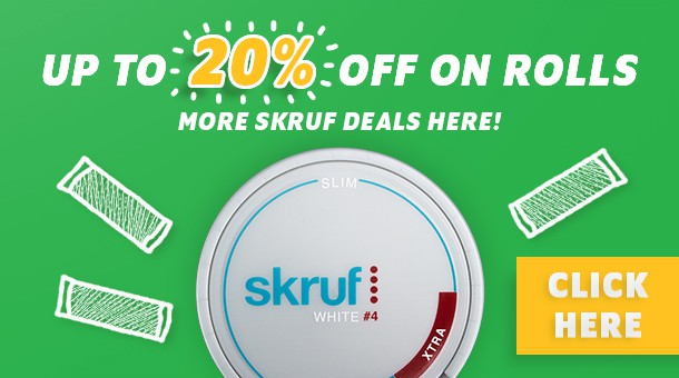 Get up to 20% off on rolls!